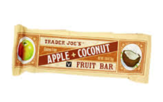 apple coconut bar