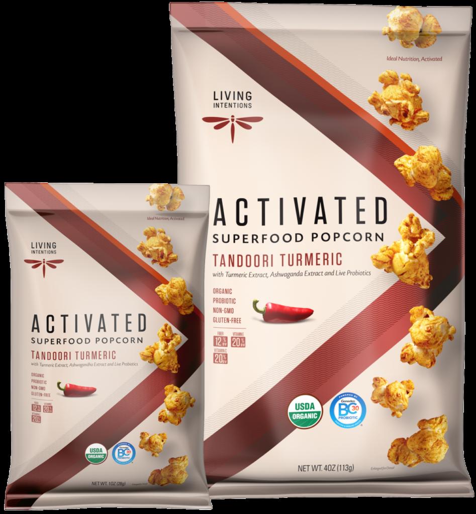 activated popcorn