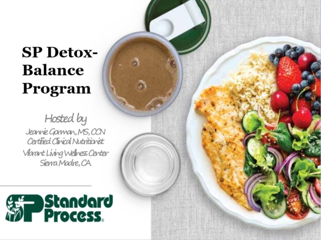 SP Detox Balance Program for Vibrant Living